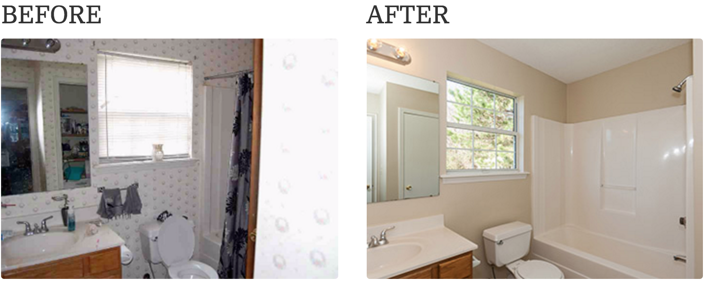 Painting interior and ceiling is good for home renovations