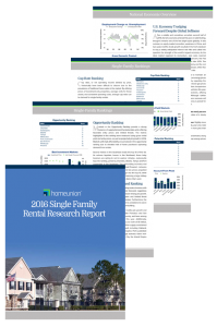 Single Family Rental Research